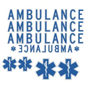 DOT Ambulance Kit Without Roof Star