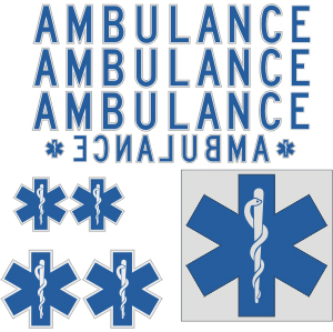 DOT Ambulance Kit with Roof Star